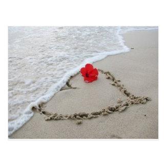 Tide love - customizable postcard
