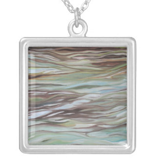 Tide Pool Silver Plated Necklace