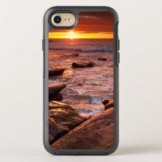 Tide pools at sunset, California OtterBox Symmetry iPhone 7 Case
