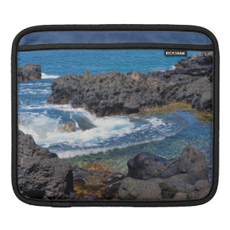 Tide Pools at the End of the World iPad Sleeve