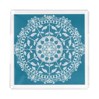 Tidepool Mandala Acrylic Tray