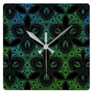 Tidepool Square Wall Clock
