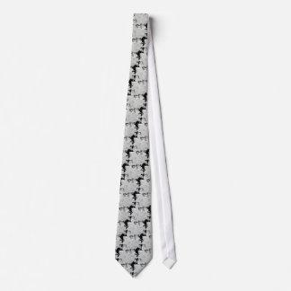 Tie Cherry Blossom - Black & White