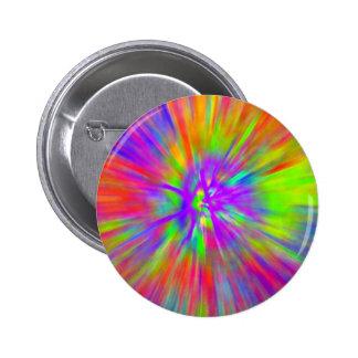 tie dye 2 inch round button