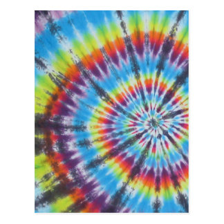 Tie Dye 2 - Most Popular Postcard