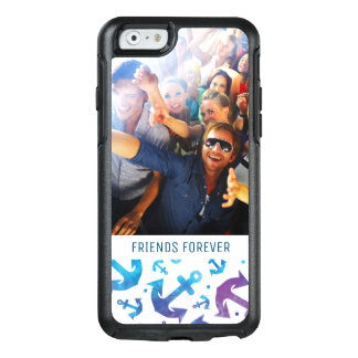 Tie Dye Anchor Pattern | Your Photo & Text OtterBox iPhone 6/6s Case