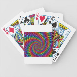 Tie Dye Basic Bicycle Playing Cards