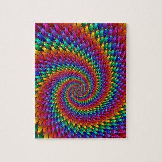 Tie Dye Basic Jigsaw Puzzle