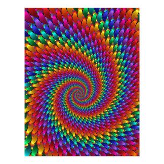 Tie Dye Basic Letterhead