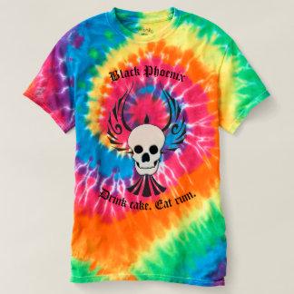 Tie-Dye Black Phoenix T-shirt