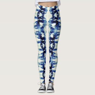 Tie-Dye Blues Leggings