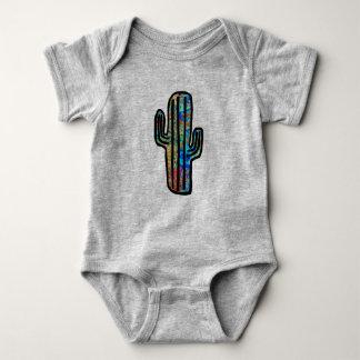 Tie Dye Cacti Baby Bodysuit