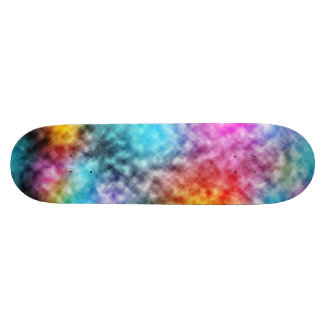 Tie Dye Colorful Skateboard Deck
