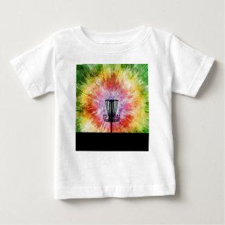 Tie Dye Disc Golf Basket Baby T-Shirt