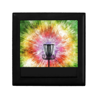 Tie Dye Disc Golf Basket Gift Box