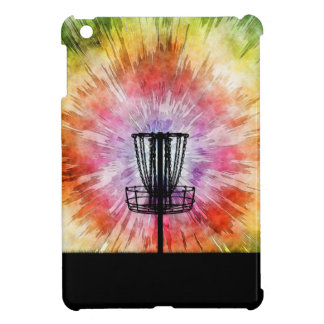 Tie Dye Disc Golf Basket iPad Mini Case