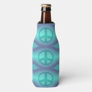 Tie Dye Effect Peace Sign Cooler