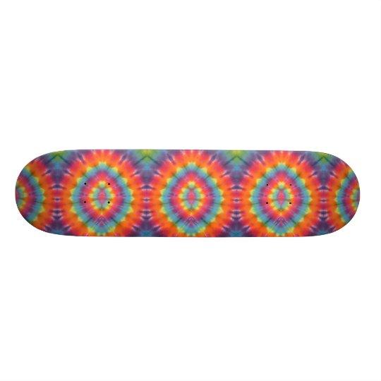 Tie Dye Eyes Skateboard Deck