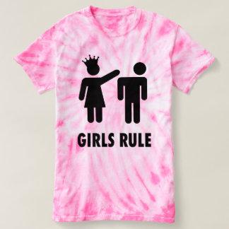 Tie-Dye Girls Rule T-Shirt