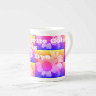 Tie Dye is my favorite color mug. Tea Cup