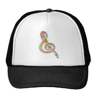 Tie-Dye Leggy Clef Trucker Hat