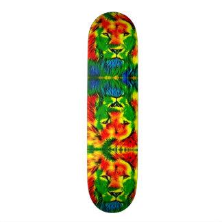 Tie Dye Lion Groove Custom Pro Slider Board Skateboard Deck