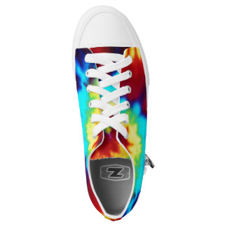 Tie Dye Look Zipz sneakers low top