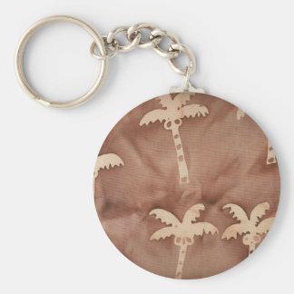 Tie Dye Palm Trees Key Chain