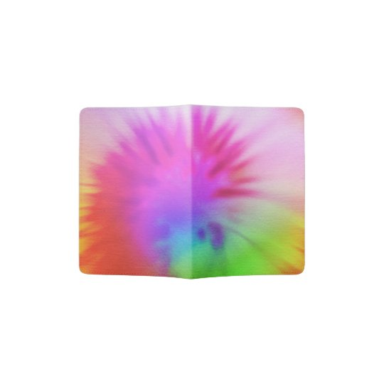 Tie-dye Passport Holder