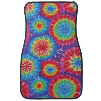 Tie Dye Pattern Hippies 70's colorful car decor Car Mat
