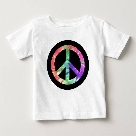 Tie Dye Peace Baby T-Shirt