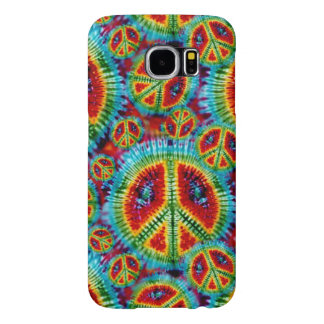 Tie Dye Peace Signs Samsung Galaxy S6 Cases