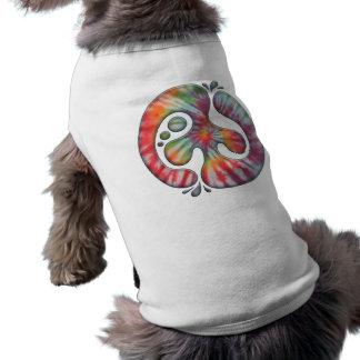 Tie-Dye Peace Spill Pet T Shirt