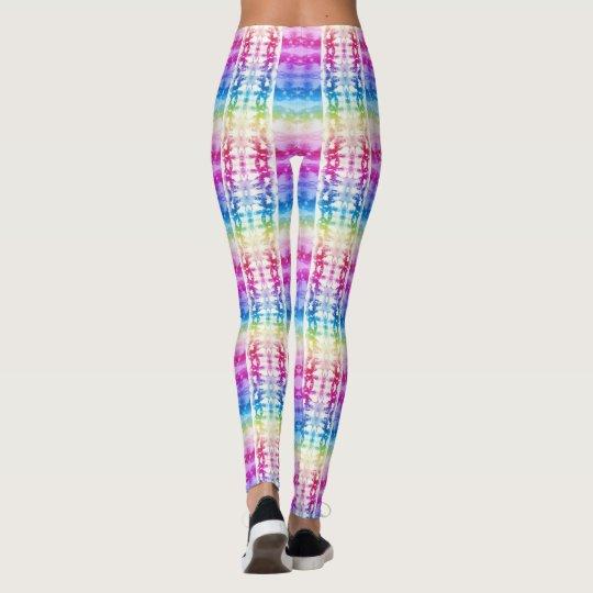 Tie-Dye Rainbow Leggings