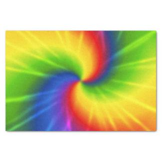 Tie Dye Rainbow Pattern Tissue Paper