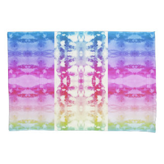 Tie Dye Rainbow Pillowcase