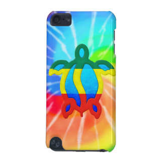 Tie Dye Rasta Honu Turtle iPod Touch (5th Generation) Cases