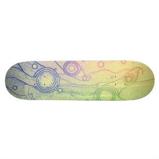 Tie Dye Skateboard