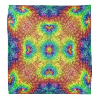 Tie Dye Sky Colorful Bandana, Hankerchief, Hankie Head Kerchief