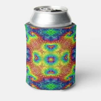 Tie Dye Sky Colorful Can Cooler