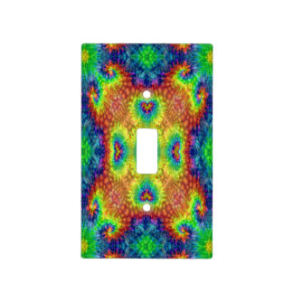 Tie Dye Sky Colorful Light Switch Covers