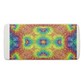 Tie Dye Sky Colorful Wedge Eraser