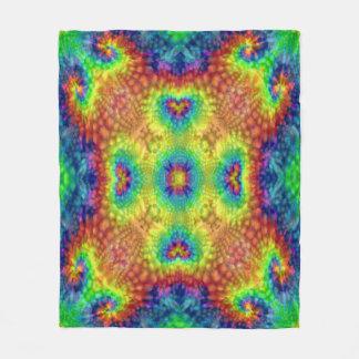 Tie Dye Sky Custom Fleece Blanket 3 sizes
