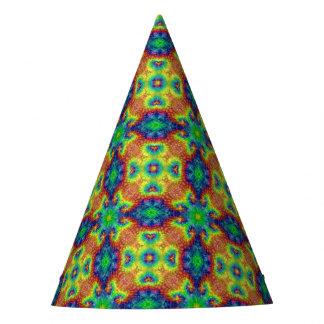 Tie Dye Sky Kaleidoscope Customizable Party Hats