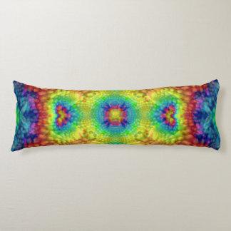 Tie Dye Sky Kaleidoscope Pattern Body Pillow