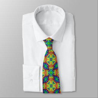 Tie Dye Sky Tiled Colorful Ties