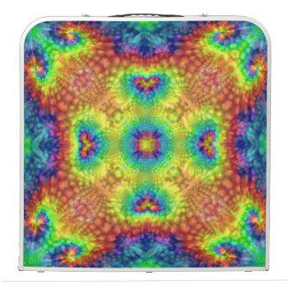 "Tie Dye Sky  Vintage Kaleidoscope   48"" Pong Table"