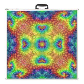 "Tie Dye Sky  Vintage Kaleidoscope  96""  Pong Table"