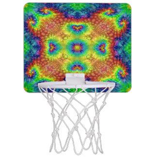 Tie Dye Sky Vintage Kaleidoscope  Basketball Hoops