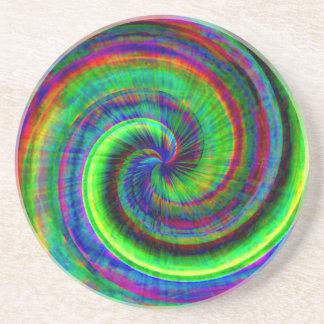 Tie-dye Swirly Coaster